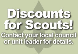 Discounts for Scouts