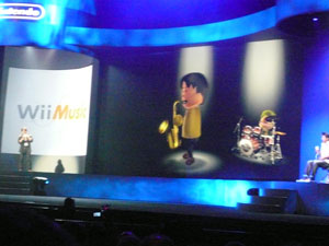 The legendary Shigeru Miyamoto jams on stage with Wii Music.