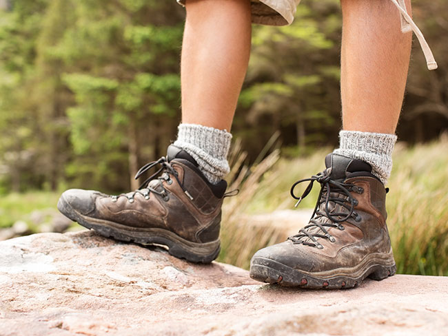 Low-cut or high-cut hiking boots