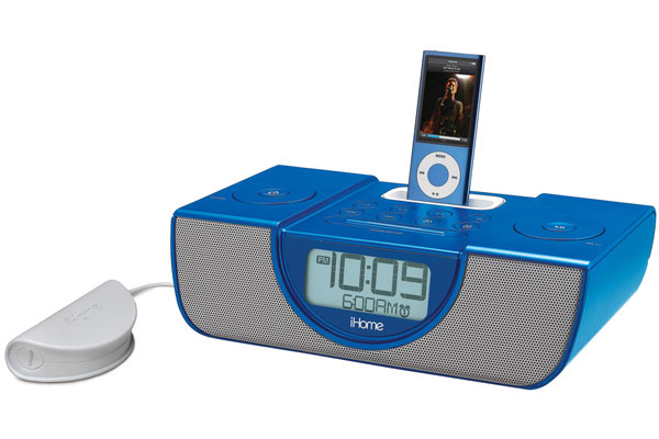 iHome iP43 alarm clock