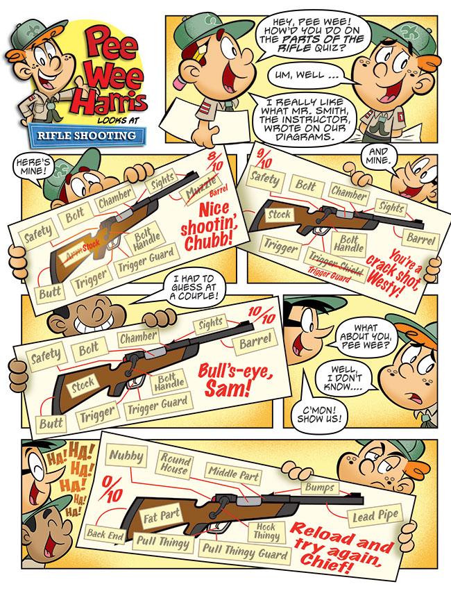 Pee Wee Harris Looks at Rifle Shooting (Jun. 2017)