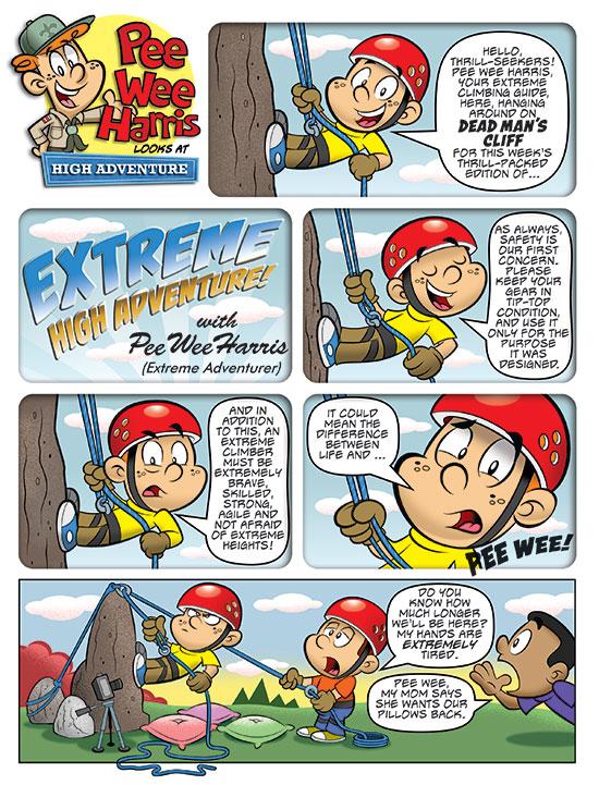 Pee Wee Harris Looks at High Adventure (Oct. 2014)