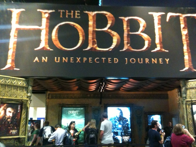 The Hobbit booth