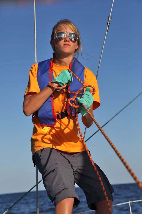 Sea Scout sailing on Lake Huron Wednesday, July 18-July 22