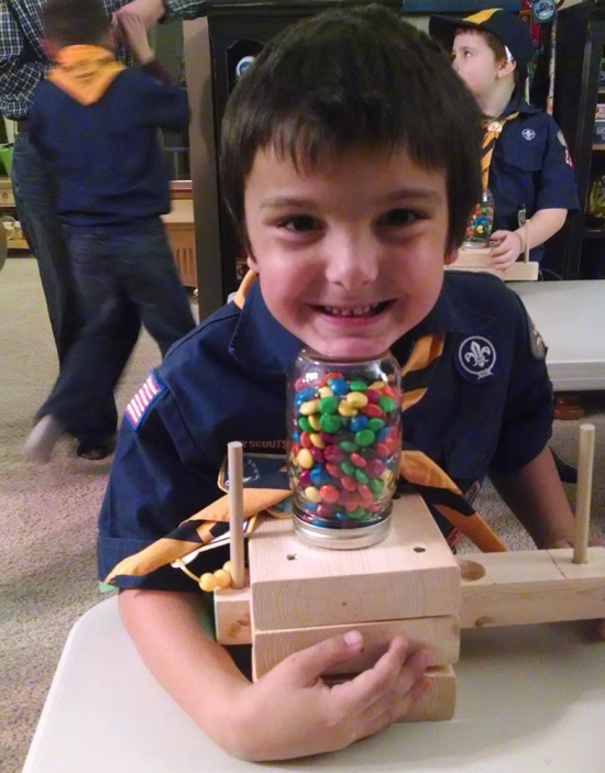 Candy dispenser project