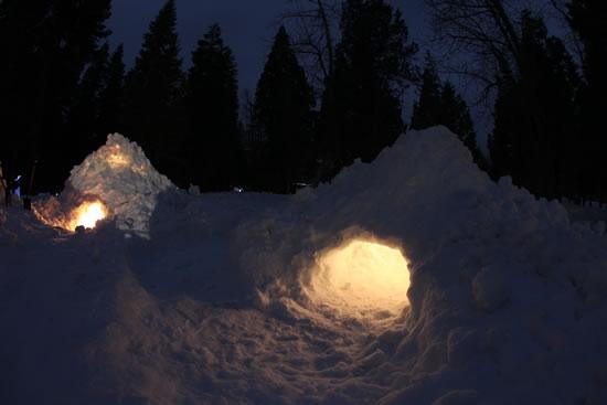 BearPaw winter camp