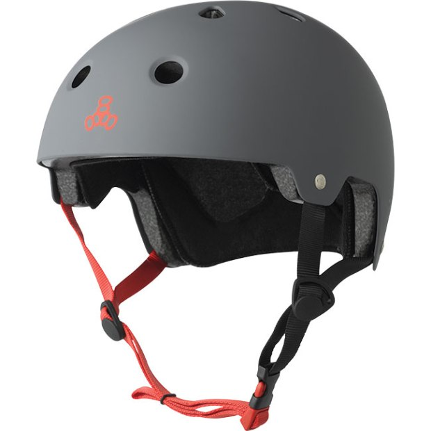 Triple 8 Dual Certified Brainsaver ($40-$45; triple8.com): This helmet has an ABS plastic outer shell with EPS liner and comfortable fit pads that are removable and washable. Dual certified for both skateboarding and bicycling (CPSC/ASTM certified).