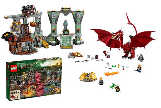 Hobbit: Lonely Mountain Lego Set