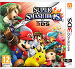 Super Smash Brother 3DS Cover