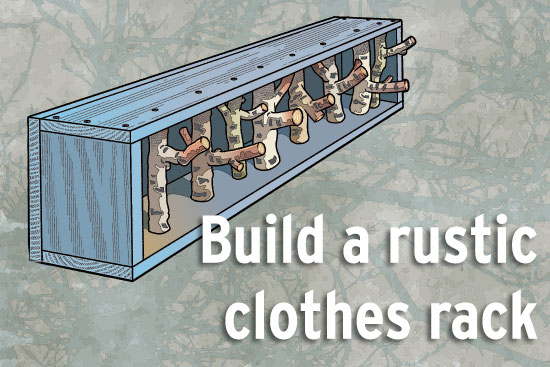 Rustic Clothes Hanger Workshop