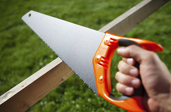 sawing-plank