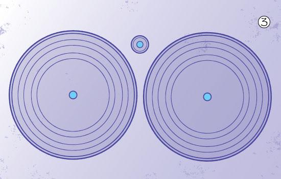 bottle-cap disc-golf step 3