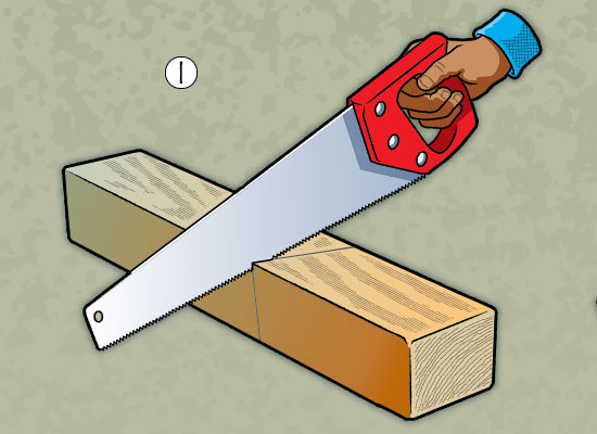 Build A Bee house step 1