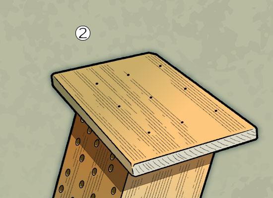 Build A Bee house step 2