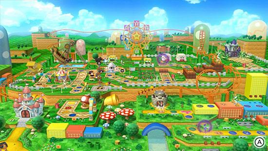 Mario Party 10 Board
