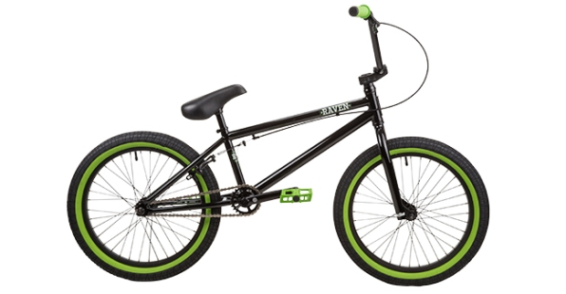 DK Raven BMX bike