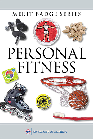 The Personal Fitness merit badge pamphlet is available at Scout Shops or at scoutshop.org.