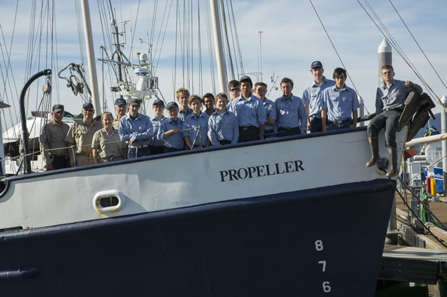 Sea Scout Ship Propeller