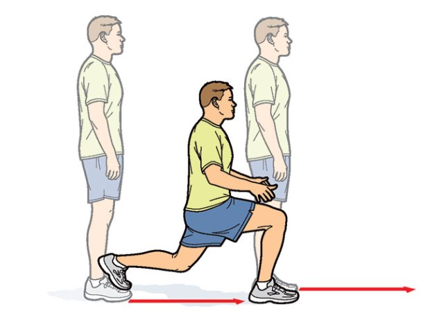 fitness-lunge