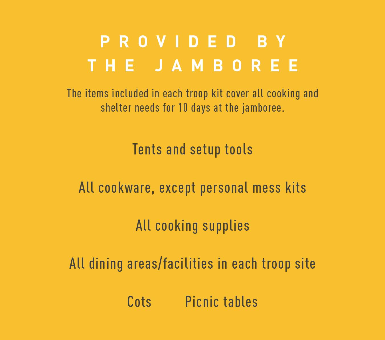Jamboree_Provides