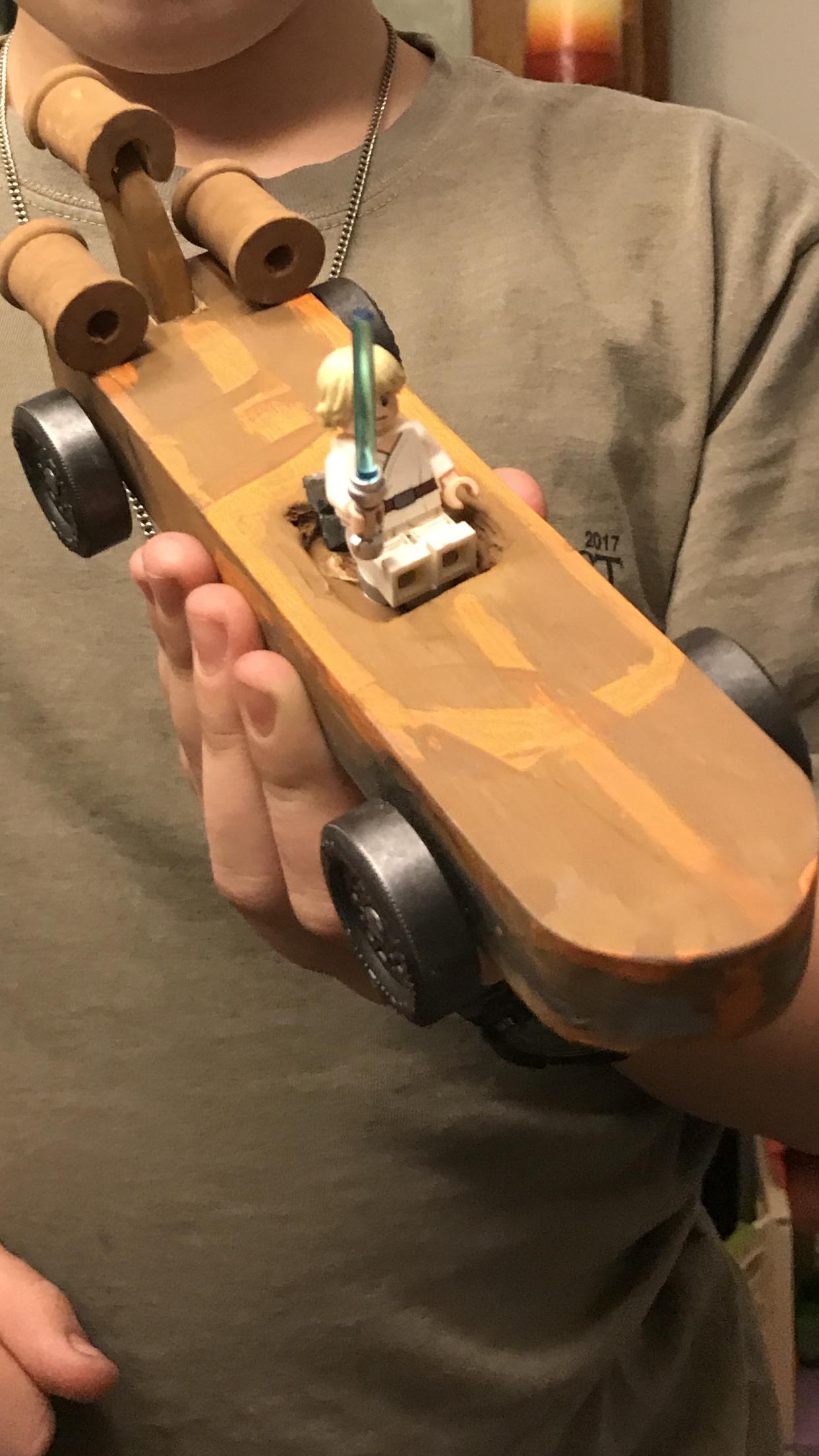Luke's Speeder