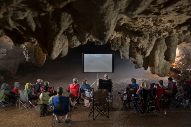 movie-in-cave