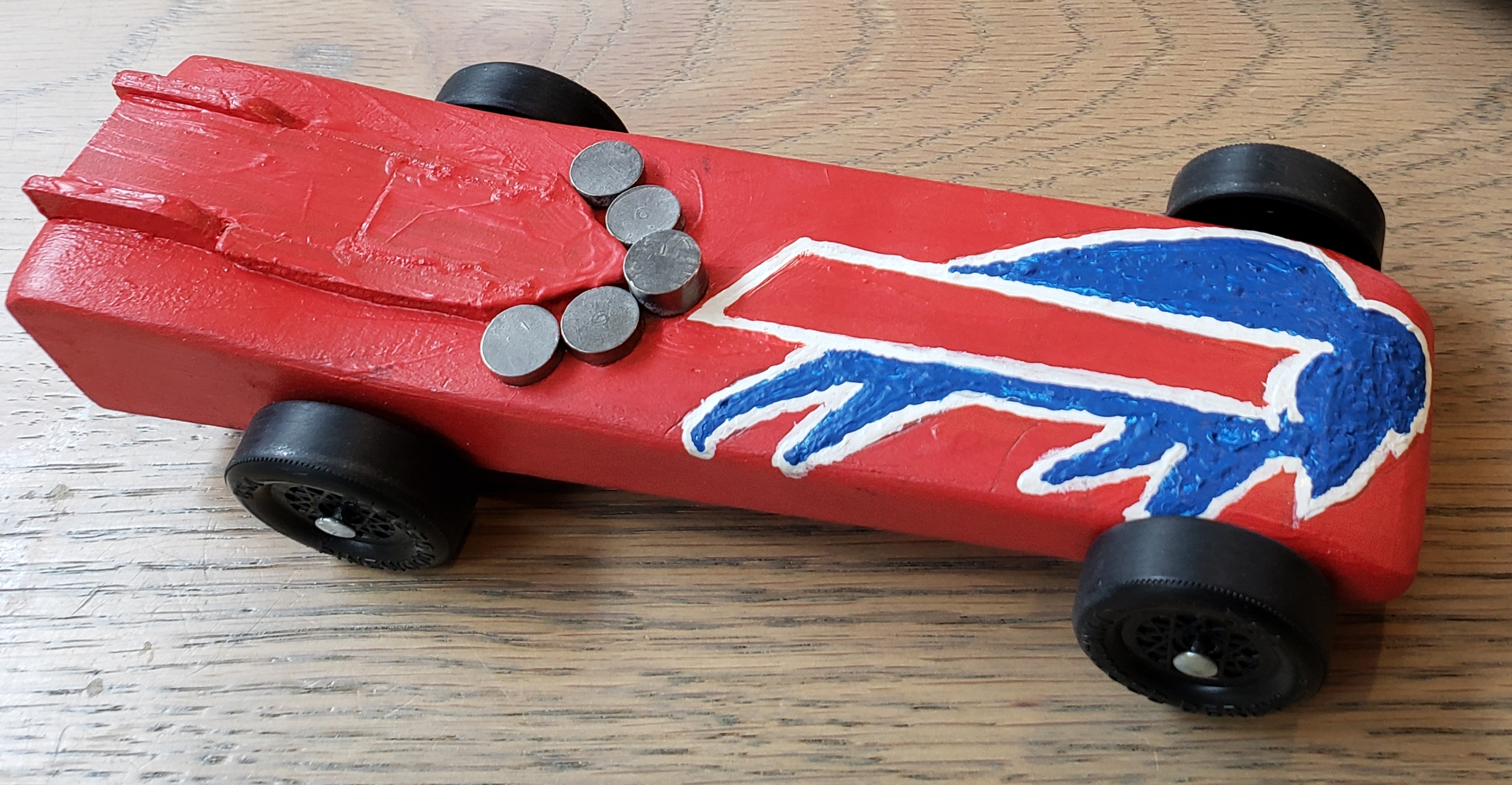 Buffalo Bills Derby Car