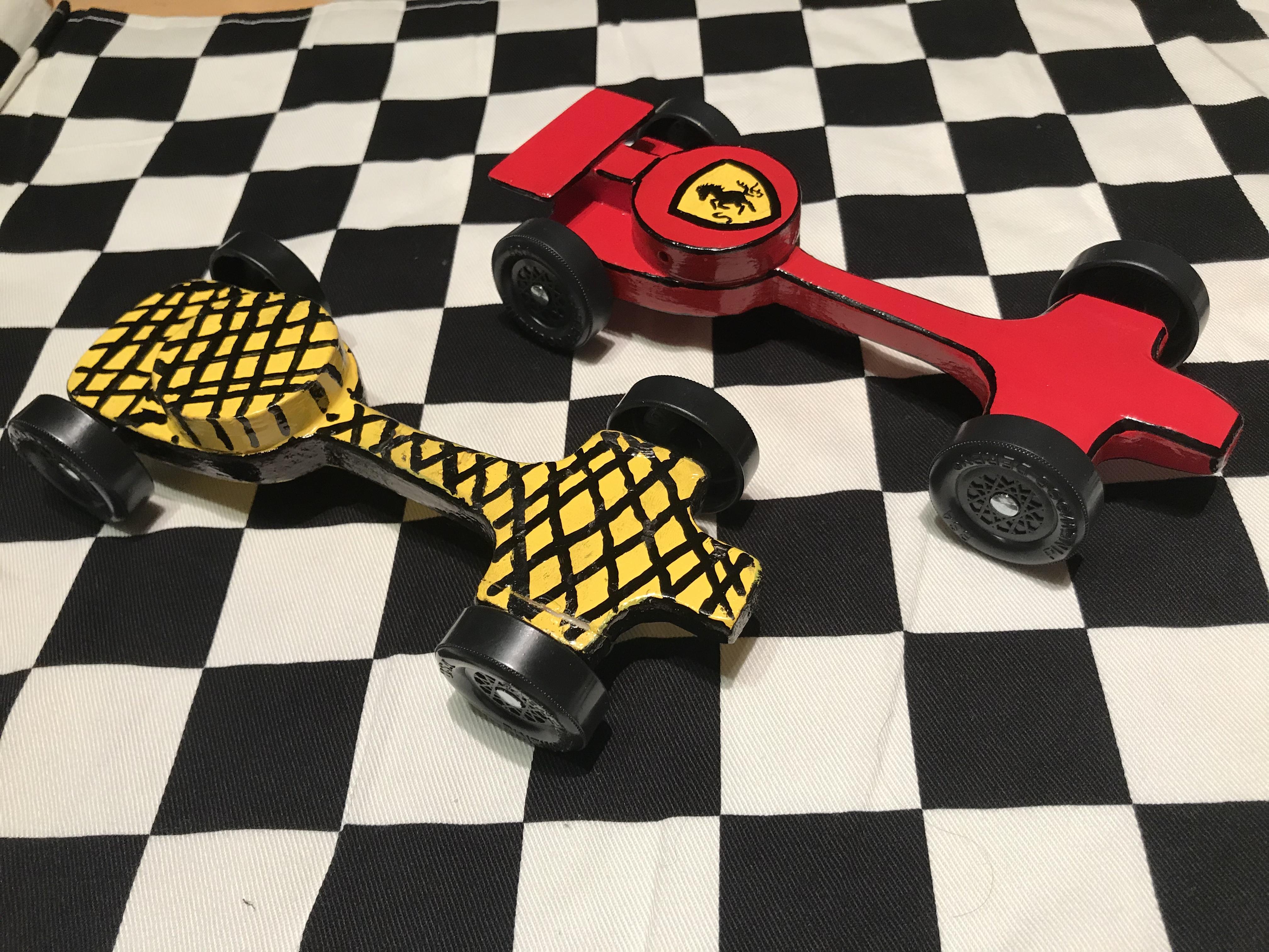 Ferrari vs Green Hornet