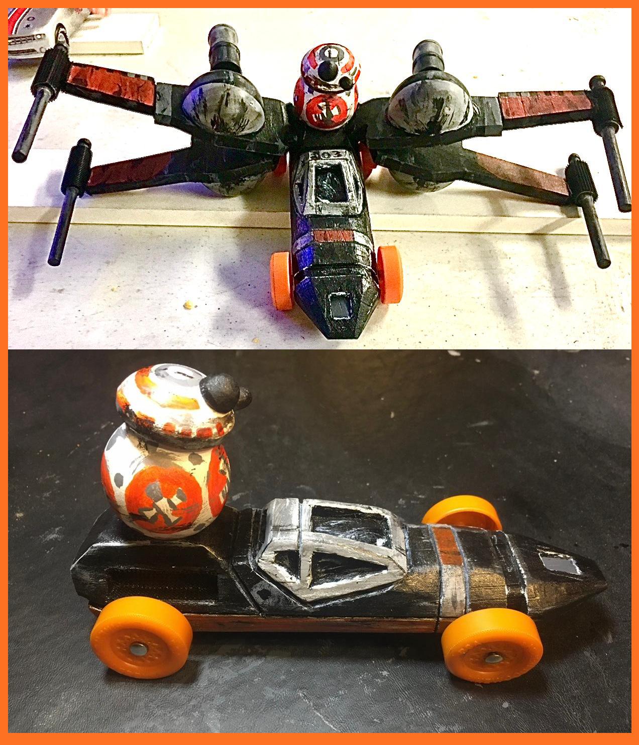 BB8 & Poe's X-Wing