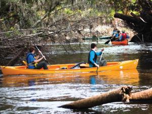 canoe-on-river