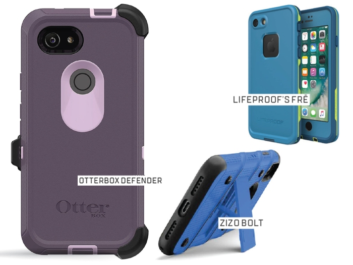 3 Tough Phone Cases for the Outdoors